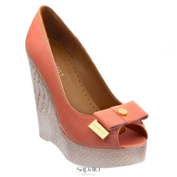 Туфли Grand Style Туфли женские. D15YA-0212 оранжевые