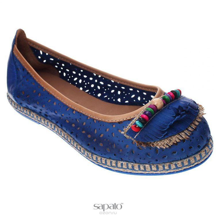Туфли Grand Style Туфли летние. E-74 синие