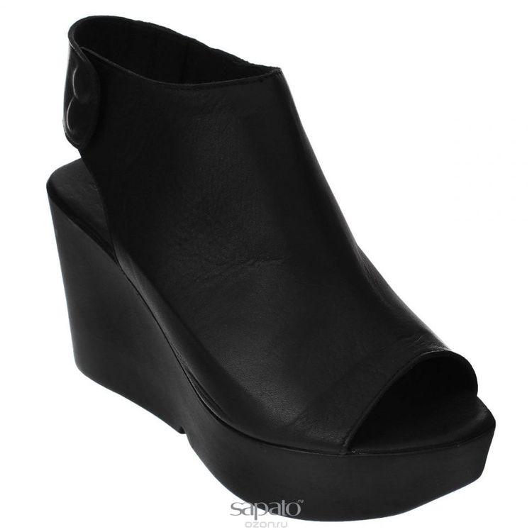 Туфли Grand Style Туфли летние. E-806 чёрн.к. чёрные