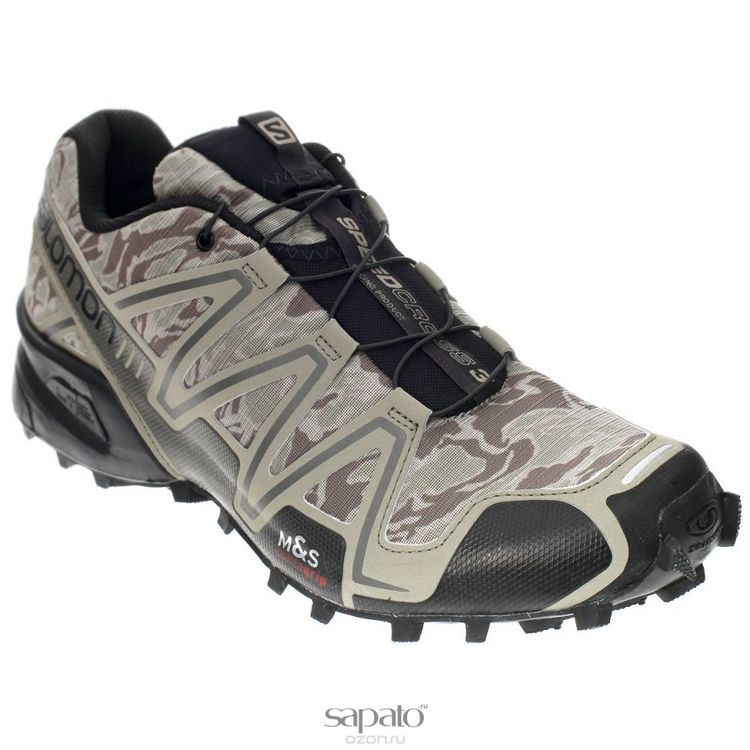 Кроссовки Salomon Кроссовки мужские для бега Speedcross 3 Camo Хаки