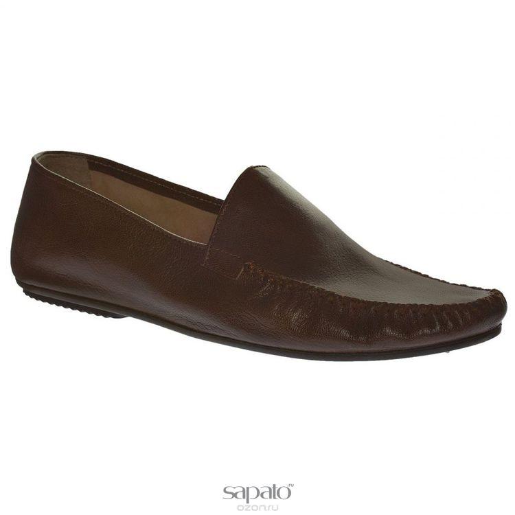 Мокасины Dino Ricci Мокасины мужские. 728-81-04 коричневые