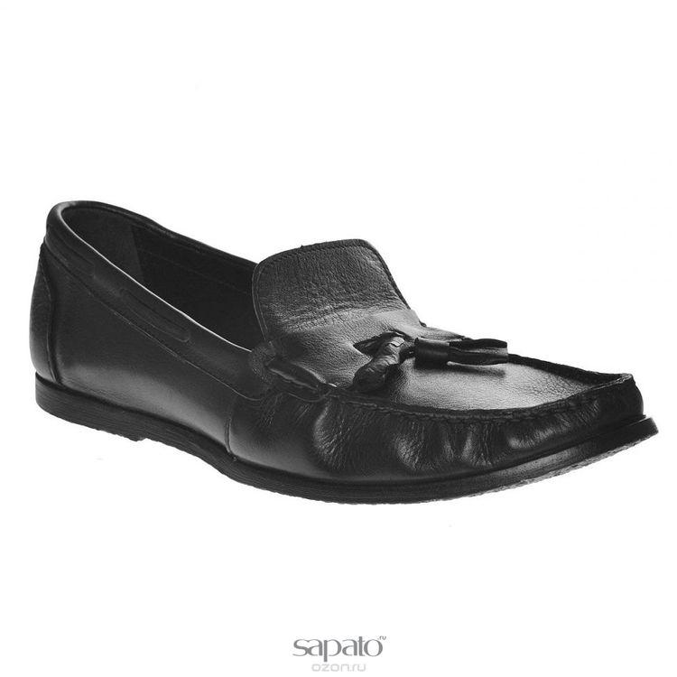Мокасины Dino Ricci Мокасины мужские. 756-12-02 чёрные