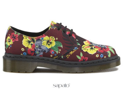 Ботинки Dr. Martens 15811601 Lester Cherry Red Hawaiian Punk Dr Martens оранжевые