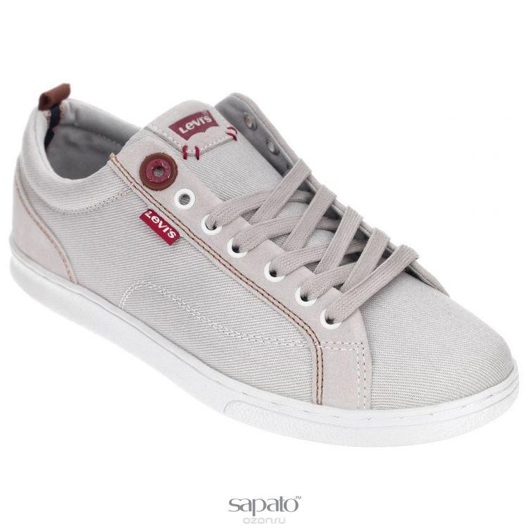 Кеды Levis Кеды мужские Tulare Low Sneaker серые