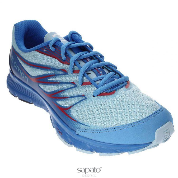 Кроссовки Salomon Кроссовки женские для бега Sense Link W голубые