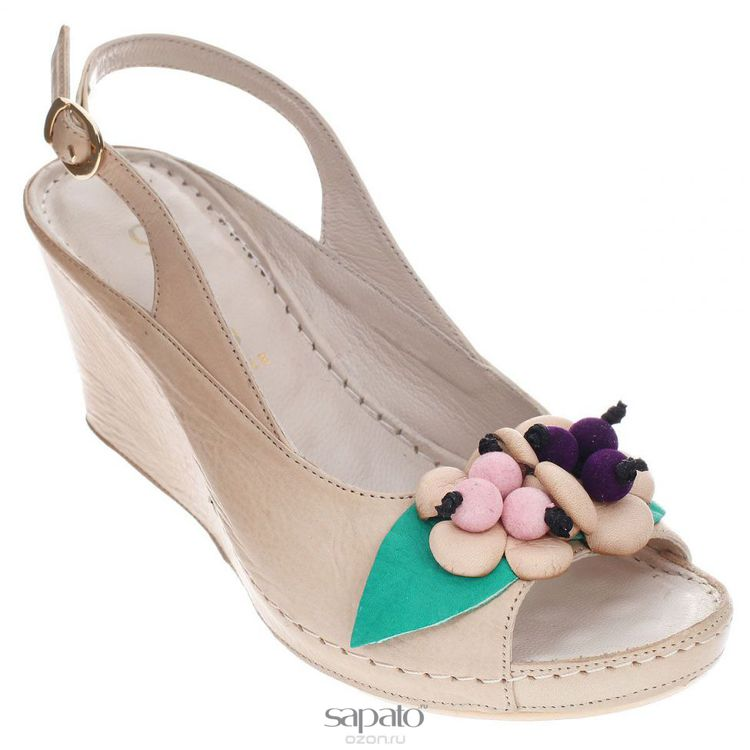 Туфли Grand Style Туфли летние. 503-7-3 бежевые