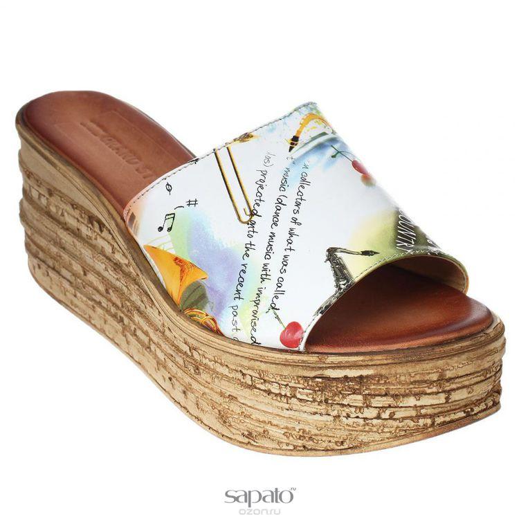 Туфли Grand Style Туфли летние. 90-855 Мультиколор