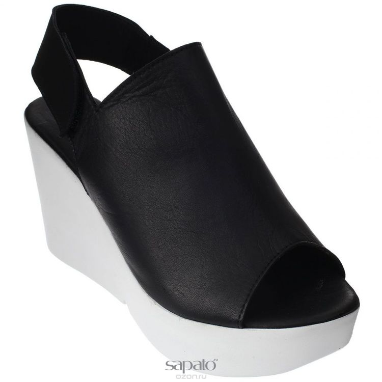 Туфли Grand Style Туфли летние. E-801 чёрн.к. чёрные