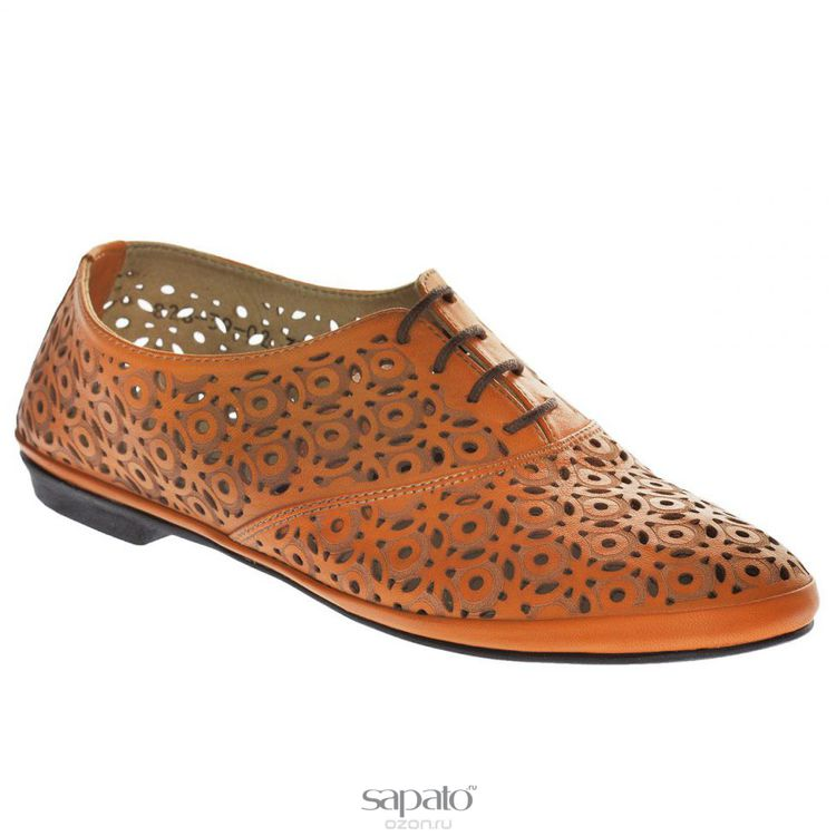Полуботинки Dino Ricci Полуботинки женские . 828-39-02 оранжевые