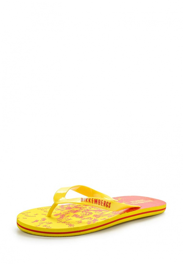 Сланцы Bikkembergs B6P334W73 жёлтые