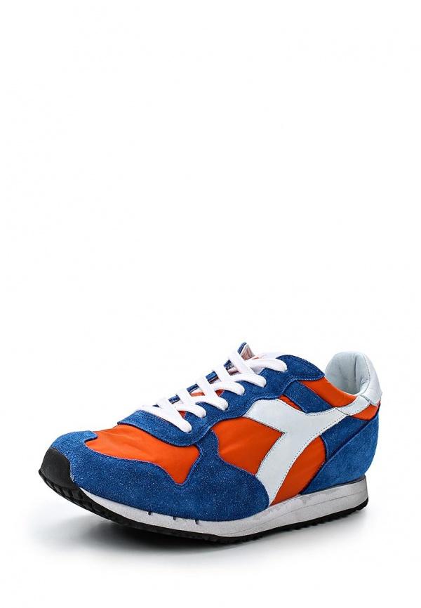 Кроссовки Diadora Heritage 80 201.157083 оранжевые, синие