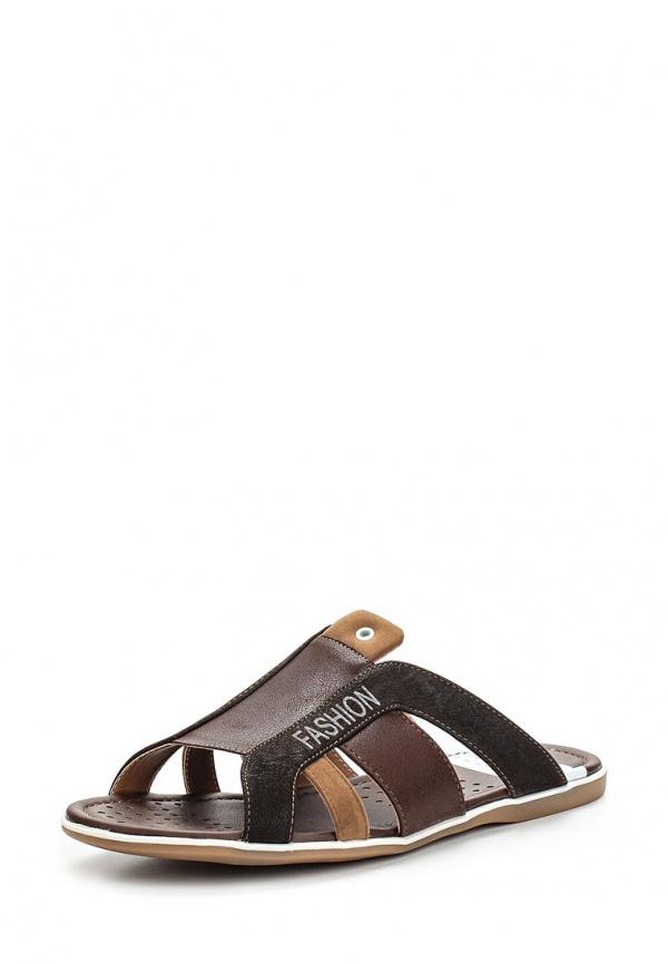 Шлепанцы Stesso 619-008GH-3A коричневые