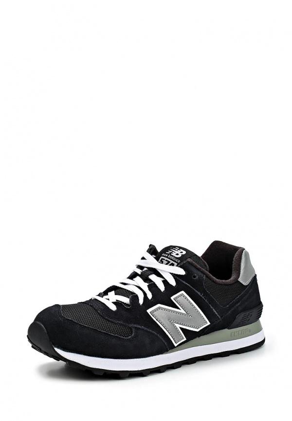 Кроссовки New Balance M574NK/D чёрные