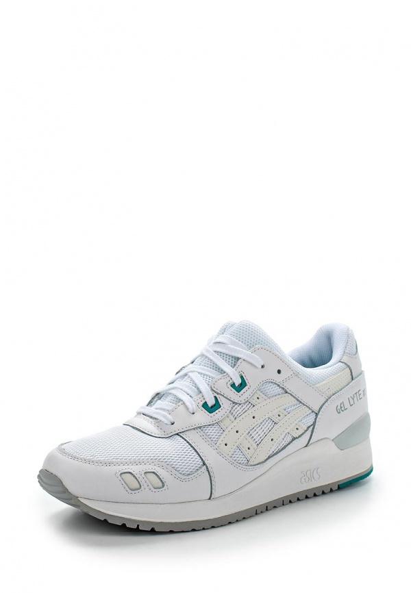 Кроссовки Asics H5B4N белые