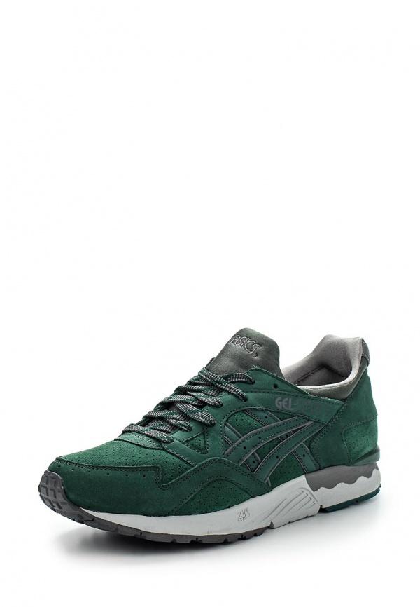 Кроссовки Asics H5D2L зеленые