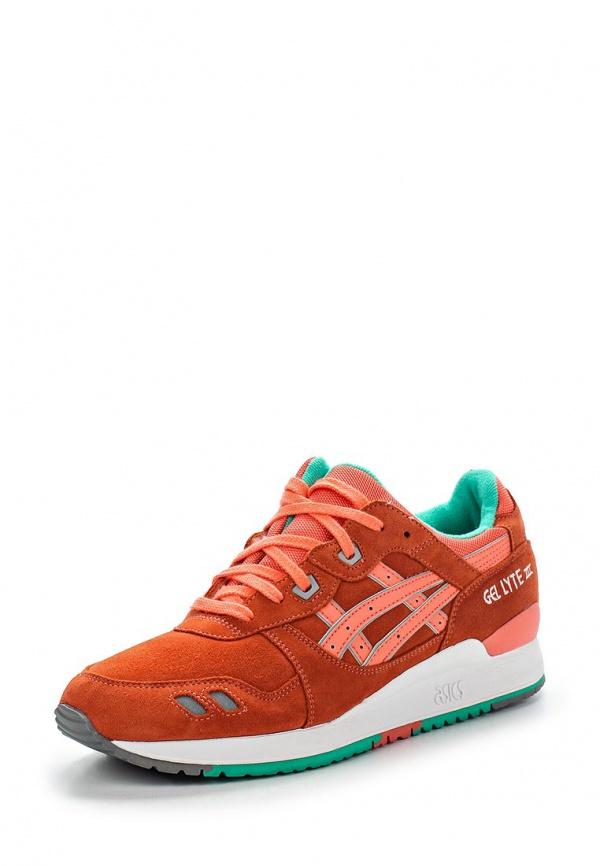Кроссовки Asics H511L оранжевые