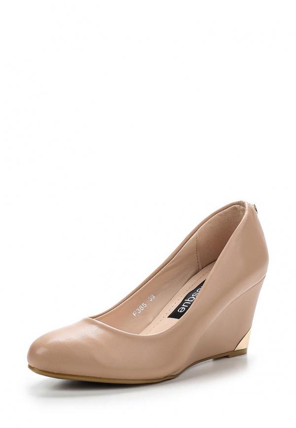 Туфли Burlesque HRC-1512-40 бежевые