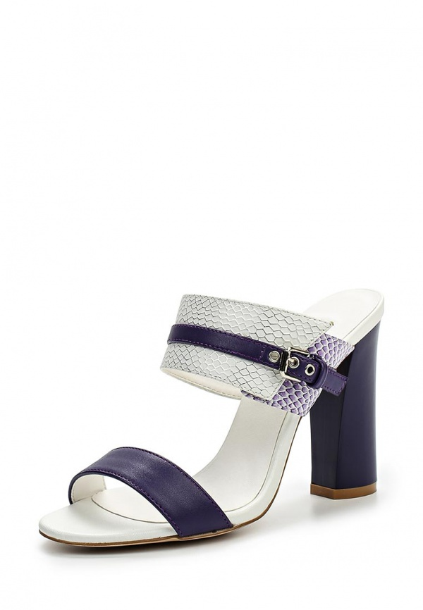 Сабо Inario 15004-04-2 белые, фиолетовые