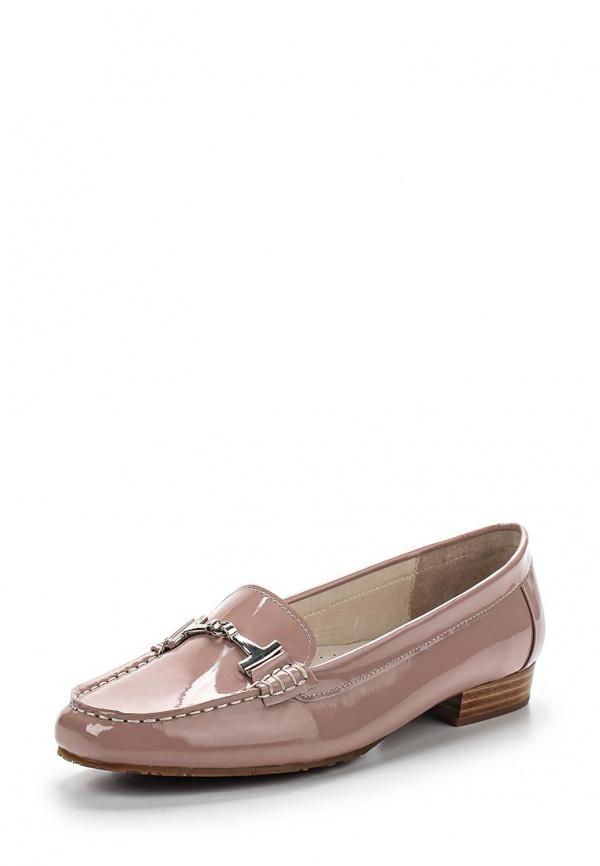 Лоферы Provocante 60307-28 розовые