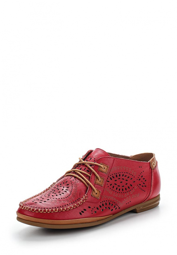 Ботинки Provocante 53000-60 красные