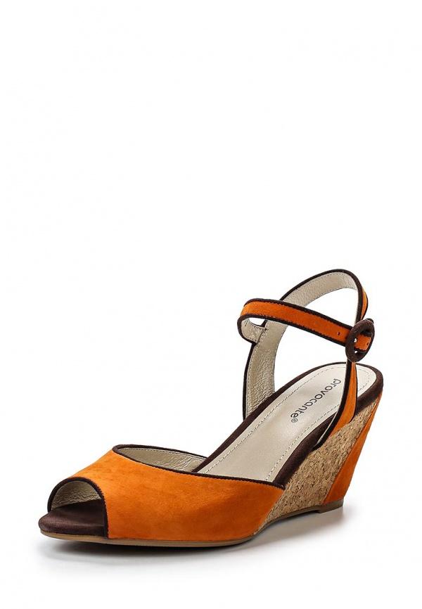 Босоножки Provocante 63093-37 оранжевые