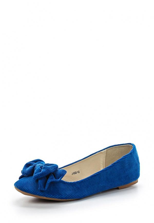Балетки Vivian Royal J-032-12 синие
