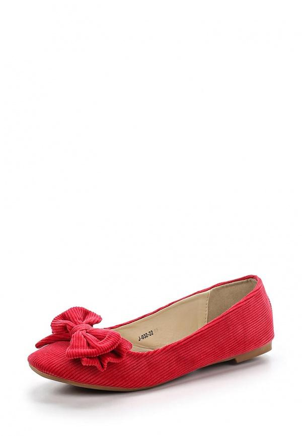 Балетки Vivian Royal J-032-22 красные