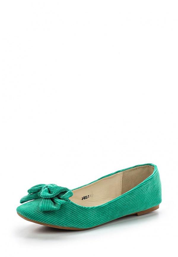Балетки Vivian Royal J-032-7 зеленые