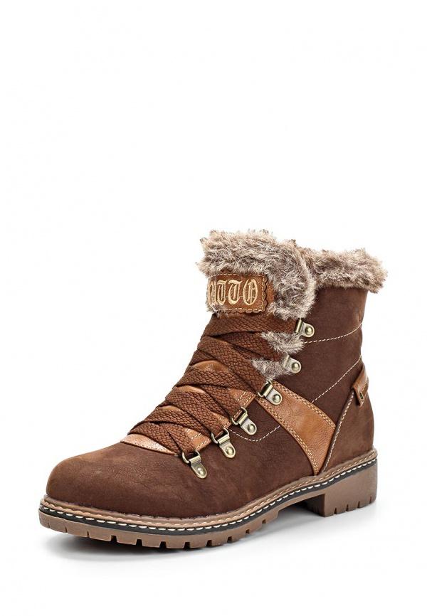 Ботинки Dutto 629-00AXR-1A коричневые