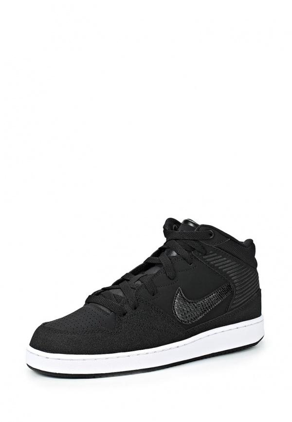 Кеды Nike 641895-001 чёрные