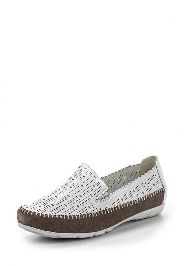 Туфли Ascalini T12620 белые
