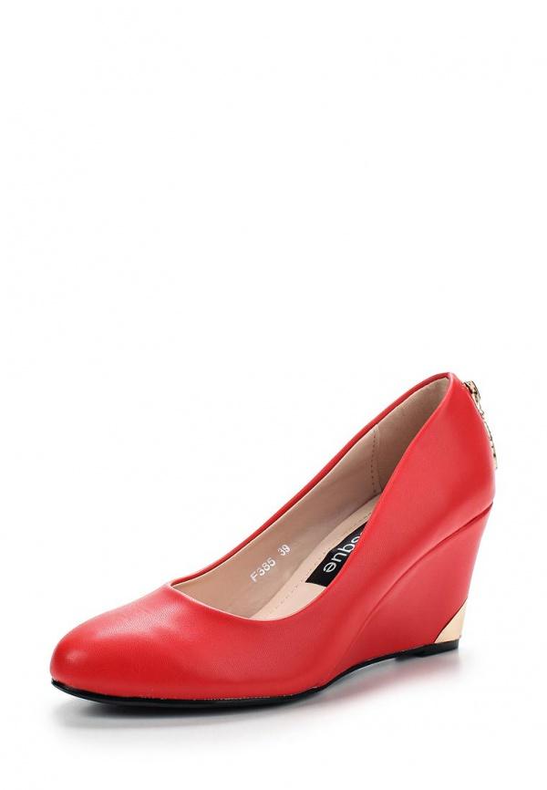 Туфли Burlesque HRC-1512-8 красные