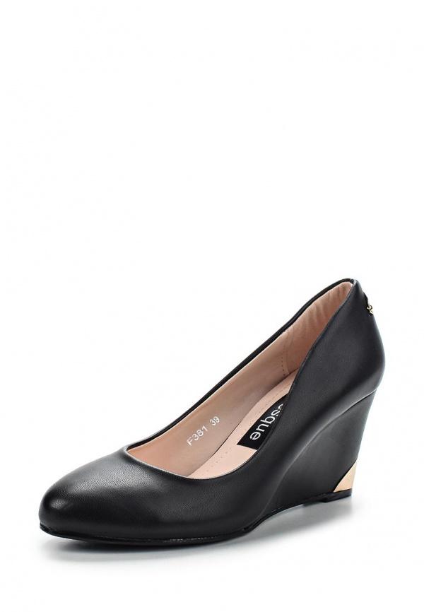 Туфли Burlesque HRC-1512-17 чёрные