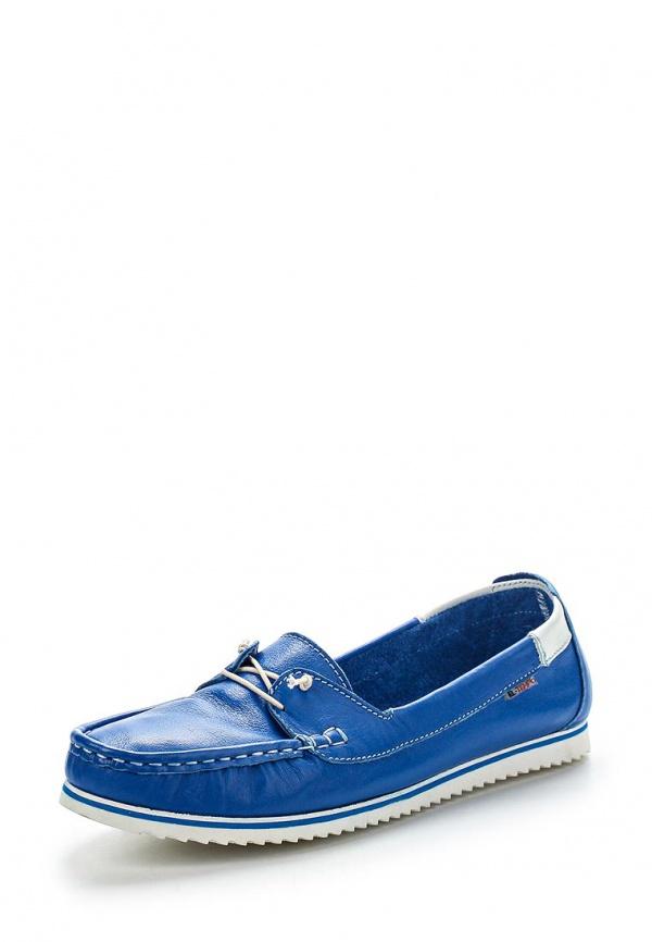 Мокасины El Tempo PP158_4141_BLUE-WHITE-222 синие