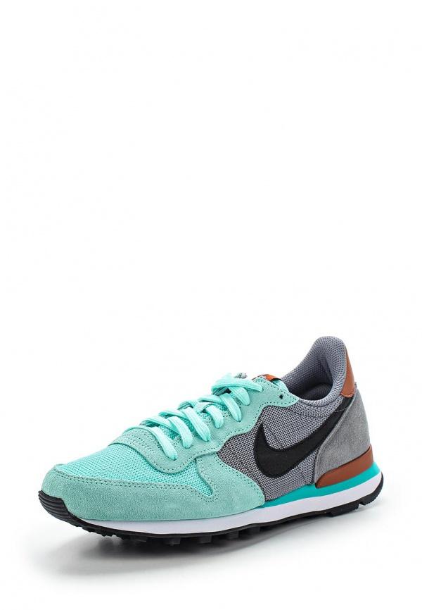 Кроссовки Nike 629684-302 зеленые
