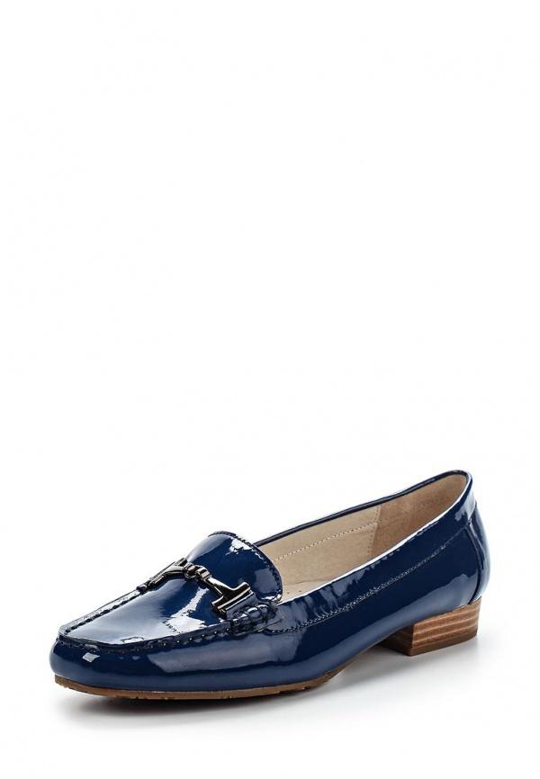 Лоферы Provocante 60307-44 синие