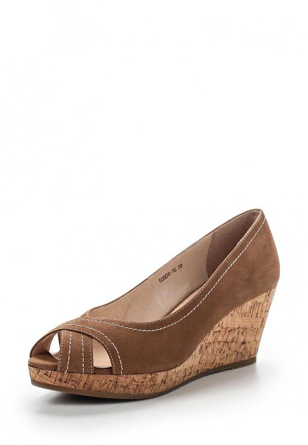 Туфли Provocante 50804-15 коричневые