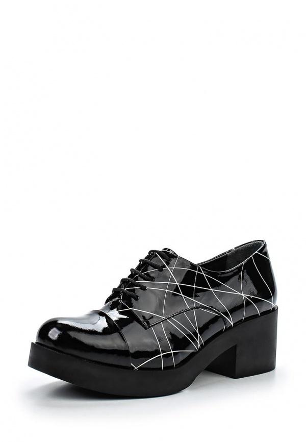 Ботинки Springway 606-114-112 чёрные