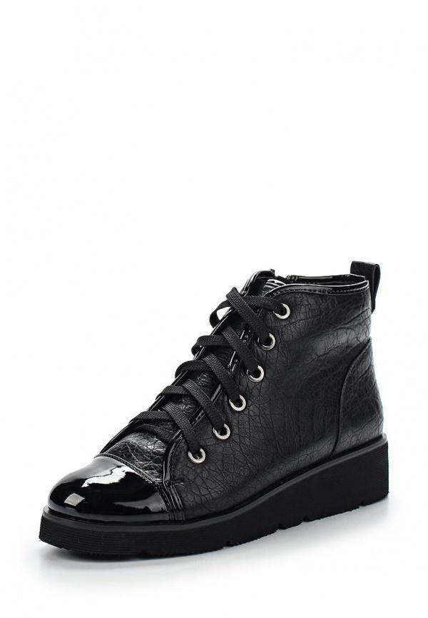 Ботинки Springway D185A-Z25-2 чёрные