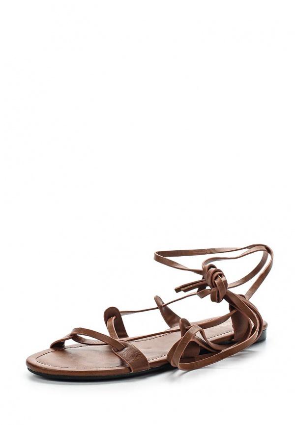 Сандалии Zalora ZA0115WSH0067C коричневые
