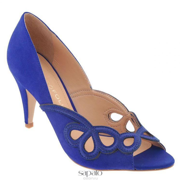 Туфли Cristofoli Туфли жен. 150417 синие