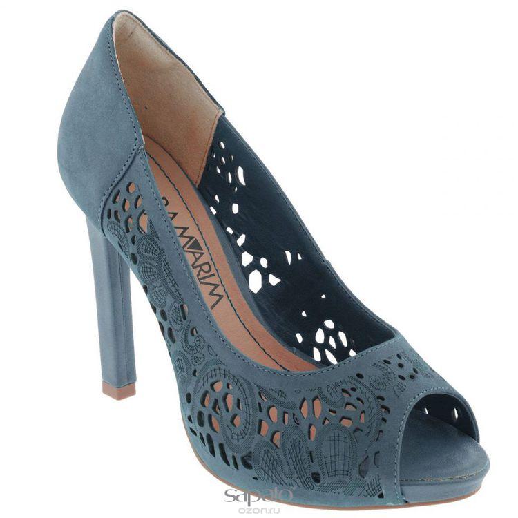 Туфли Ramarim Туфли летние женские. 14-22204 голубые