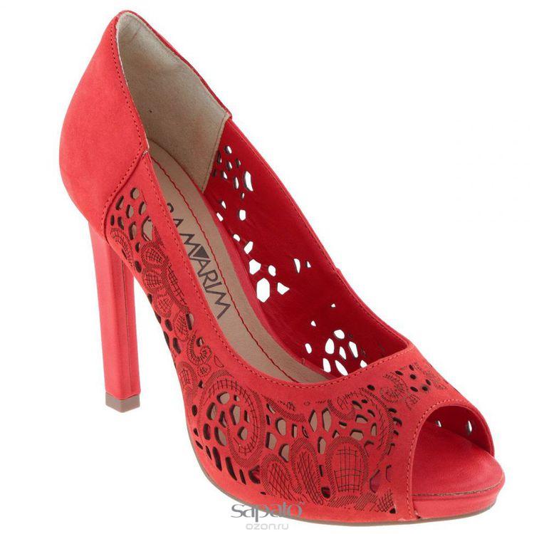 Туфли Ramarim Туфли летние женские. 14-22204 красные
