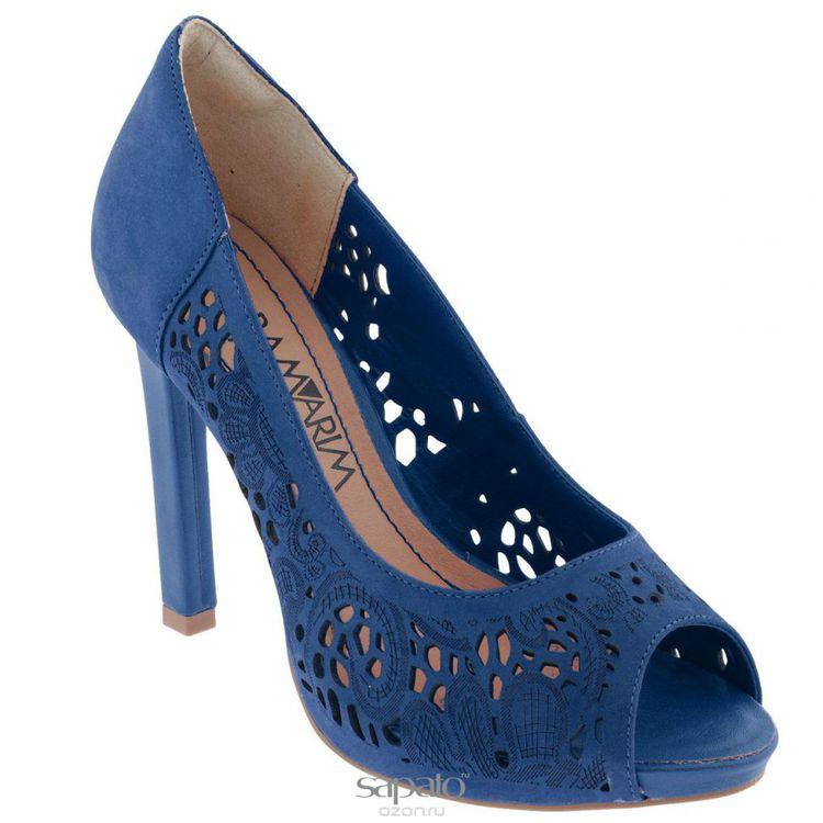 Туфли Ramarim Туфли летние женские. 14-22204 синие