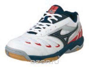 Кроссовки Mizuno Кроссовки для волейбола унисекс Wave Rally 5 синие
