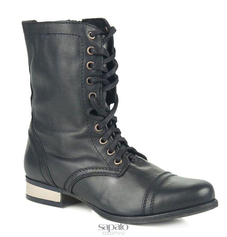 Ботинки Steve Madden Ботинки женские. TROOPALE чёрные