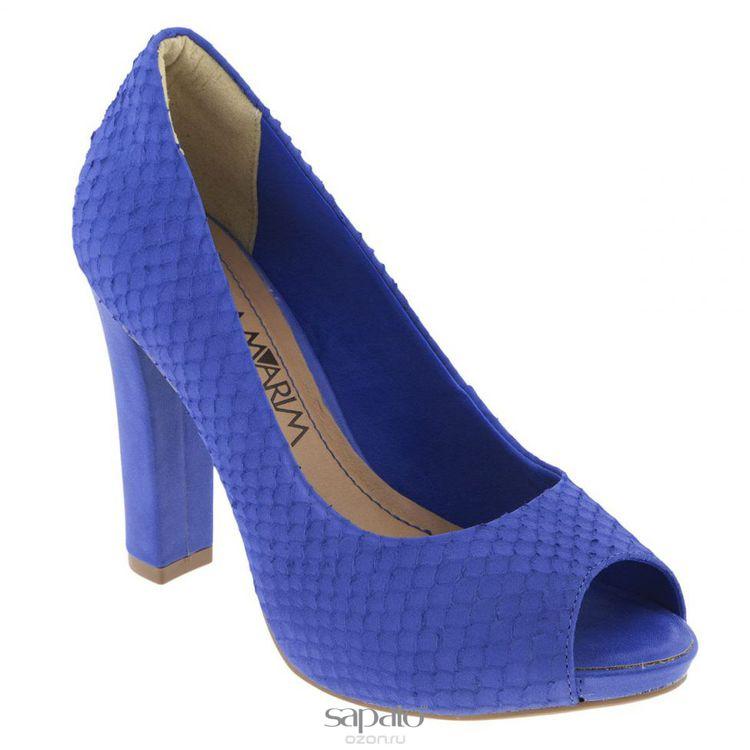 Туфли Ramarim Туфли летние женские. 14-22231 голубые