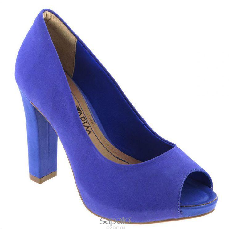 Туфли Ramarim Туфли летние женские. 14-22231 синие