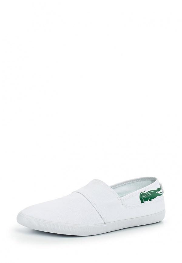 Слипоны Lacoste SPM0056082 белые