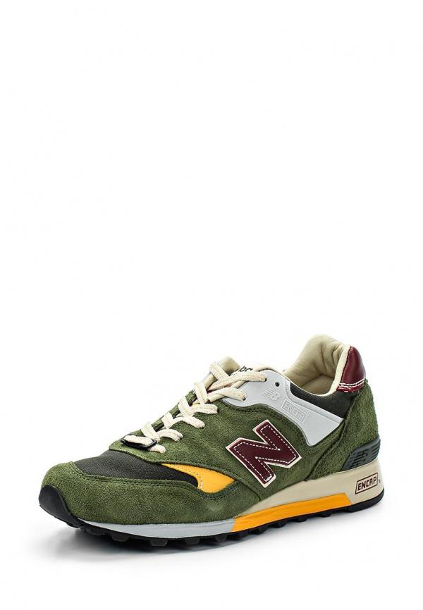 Кроссовки New Balance M577TGY зеленые